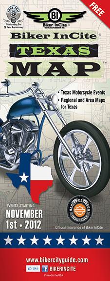 Texas Biker Map