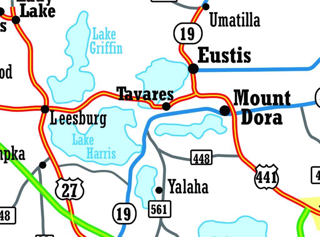 Biker InCIte Leesburg Map