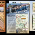 2007 August Issues of V-Twin and Easyriders Magazines, the Sturgis Survival Guide.